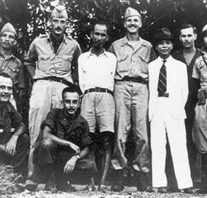 Ho Chi Minh with OSS