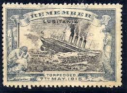 Lusitania stamp