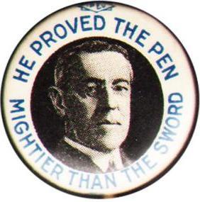 Wilson campaign button