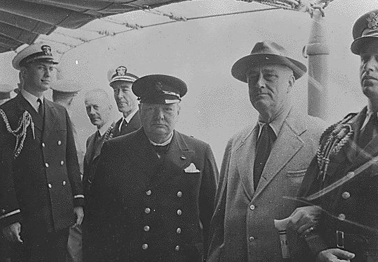 Churchill and FDR