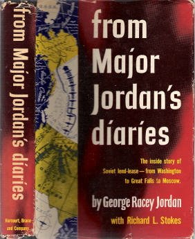 From Major Jordan's Diaries