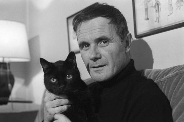 Schoendoerffer and cat