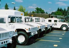 UN vehicles