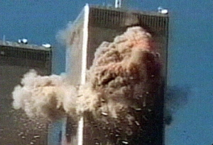 North Tower explosion