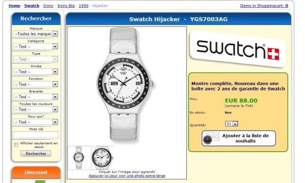 Swatch Hijacker