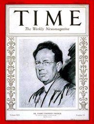 Fosdick Time Magazine