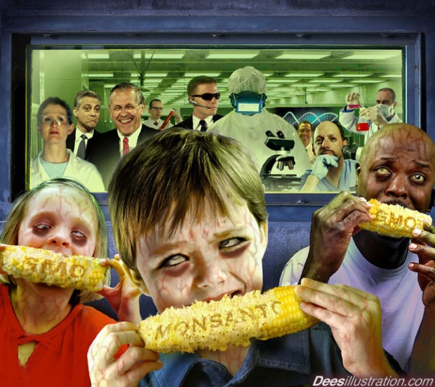 Monsanto corn Dees