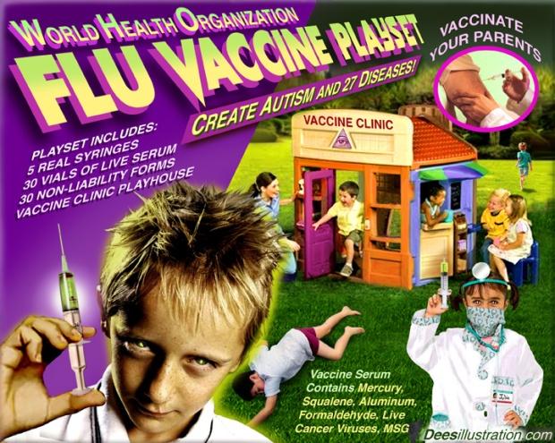 Vaccine playset