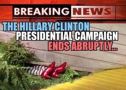 Campaign ends