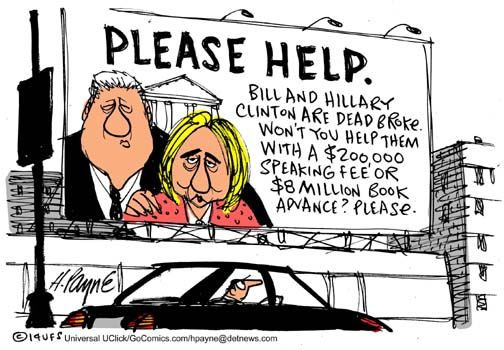 Image result for funny hillary cartoons