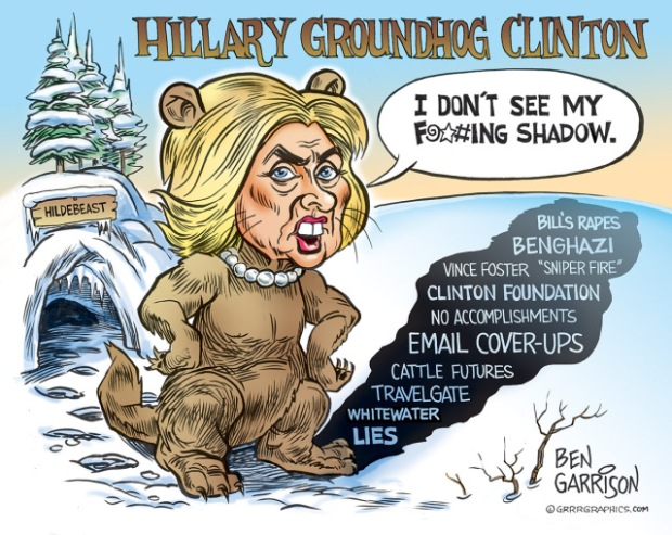 Hillary Groundhog Clinton