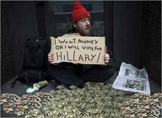 Hillary homeless man