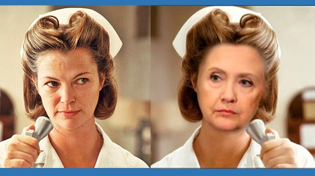 Hillary Nurse Ratched