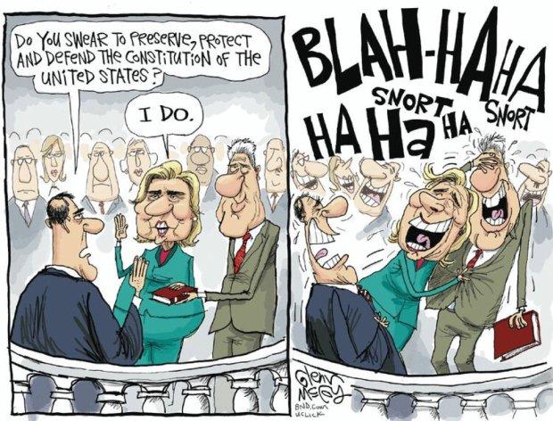 Hillary Oath 2