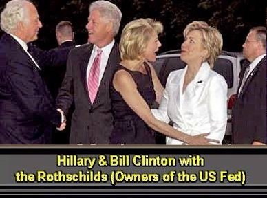 Clintons Rothschilds