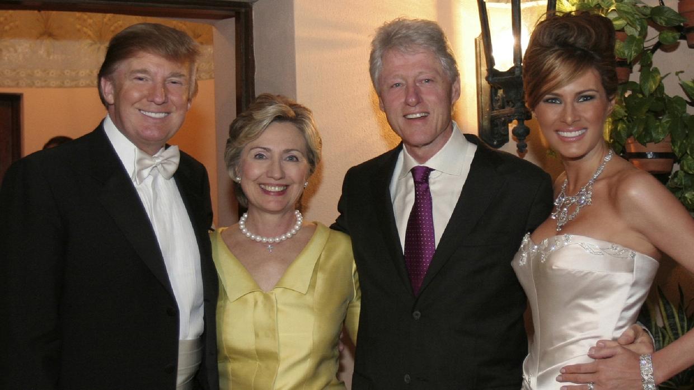 Трамп меланья фото свадьбы