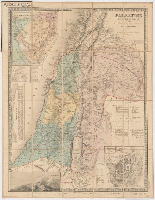 Palestine map 1