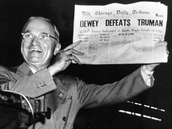 Truman newspaper
