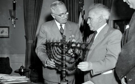 Truman with Ben Gurion