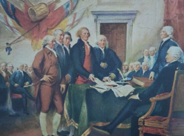 thomas jefferson and the declaration of independence essay The declaration of independence states definitively that the united states is a sovereign nation based on a draft by thomas jefferson, the second paragraph of the document proclaims the colonies have the right to be independent, and they are asserting that right.