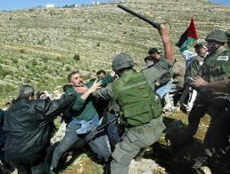Beating Palestinians
