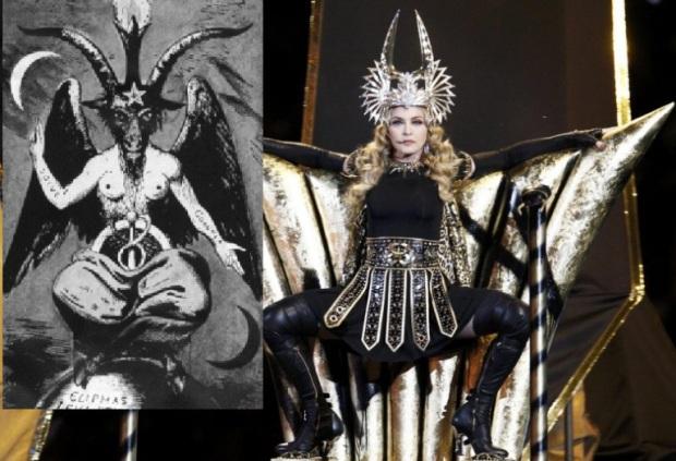 Кобра: Новая Атлантида (04.01.2017) - Страница 2 Madonna-bapthomet
